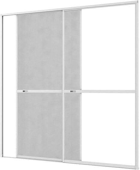 Culex 101340102-VH - Mosquitera para puerta corredera (240 x 240 cm), color marrón: Amazon.es: Bricolaje y herramientas