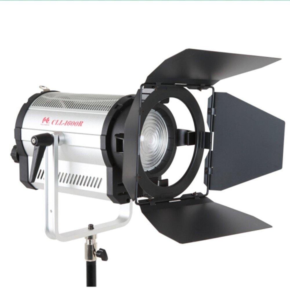 Falcon Eyes CLL-1600R  5600K  160W LED 撮影スポットライト 無階段調整可 DMX512 RC-3Eリモコン付き サンシェード付き 高温自動保護システム ビデオライト   B07C3L77RC