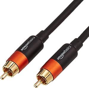 AmazonBasics - Cable de audio digital coaxial (1,2 m): Amazon.es: Electrónica