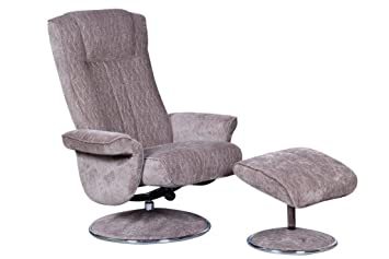 Fabric Recliner Chairs Uk The Portia Contemporary Fabric Recliner