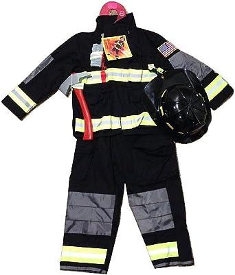 Amazon.com: teetot niños disfraz de bombero bombero 5 – 6 ...