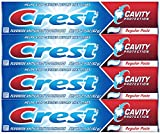 Crest Cavity Protection Regular Toothpaste, 2.9 oz - Pack of 4