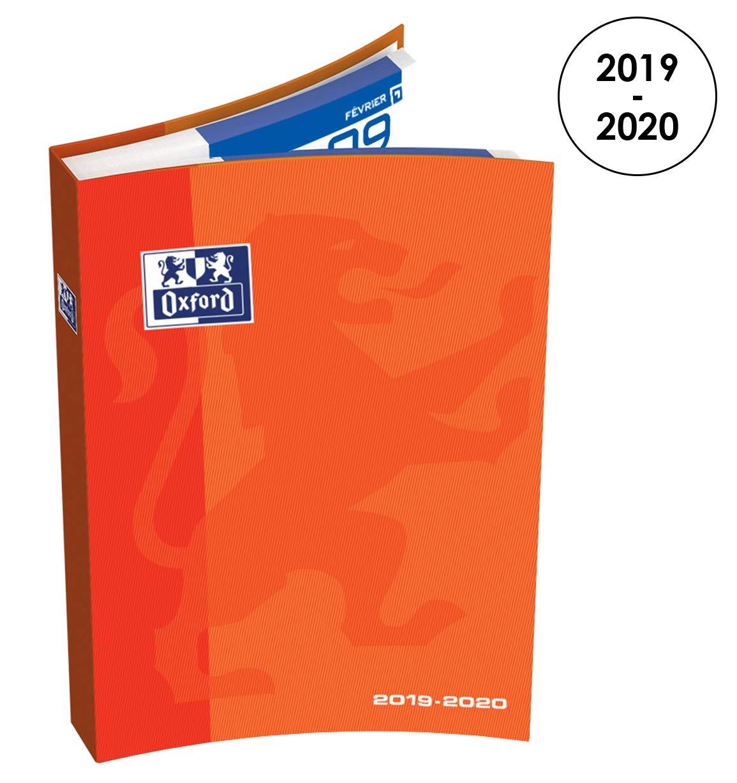 Oxford School, Agenda escolar diaria 2018-2019, 1 día por ...