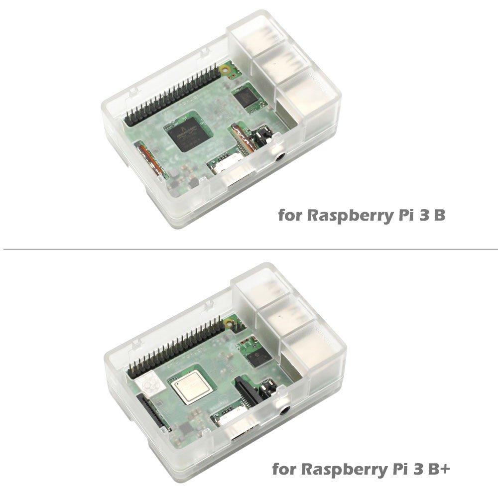 Amazon.com: iUniker Raspberry Pi 3 Funda, Raspberry Pi Fan ...