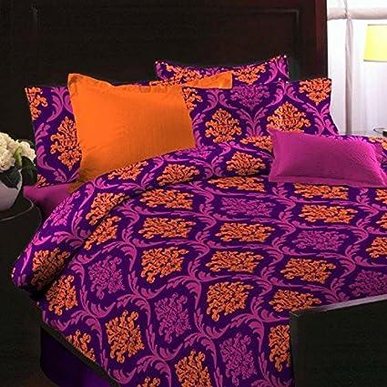 House Of Sensation Fancy Super Cotton Soft Touch Bedsheets Classic Double  Bedsheets 224 * 244 Cms