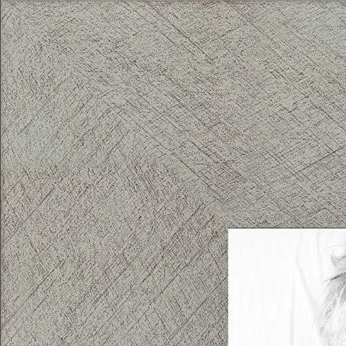 (ArtToFrames 7x20 inch Metallic Deco Silver Picture Frame, 2WOM0066-20277-YSLV-7x20)