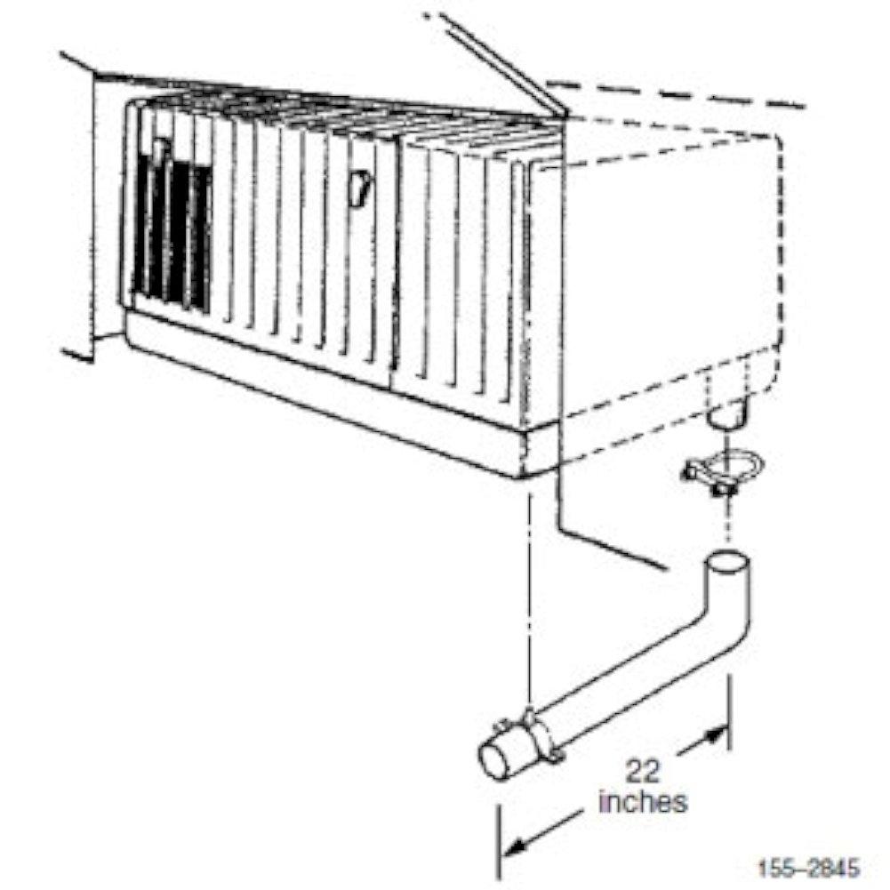 Cummins 1552845 Exhaust Tube Kit