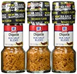 McCormick Chipotle Sea Salt Grinder, 2.32 oz (Case of 36)