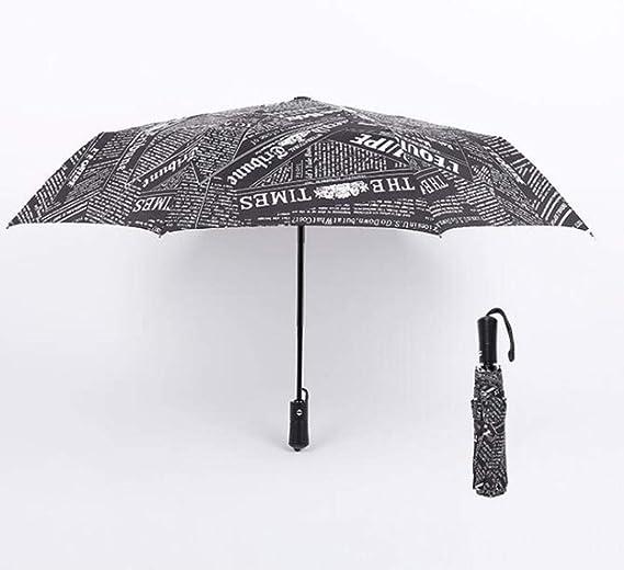 Cranky Orange Paraguas de Lluvia automático para Mujer 8 ...