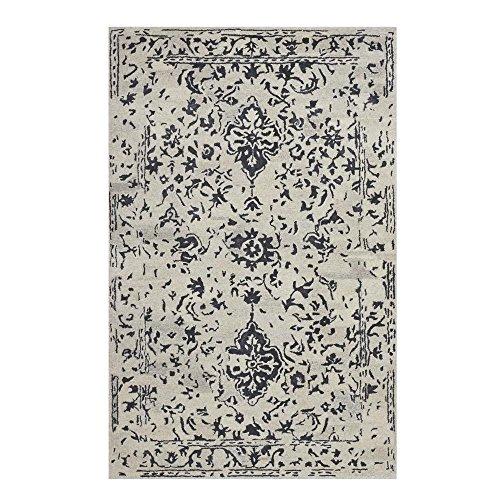 (Home Decorators Collection Castillo Charcoal 4 ft. x 6 ft. Area)