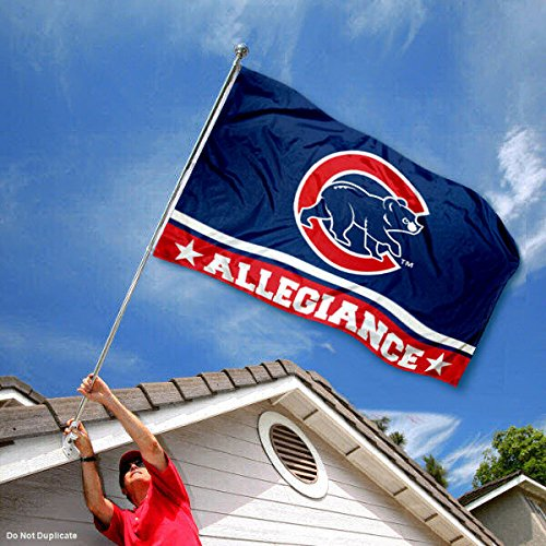 WinCraft Chicago Cubs Double Sided Allegiance Flag