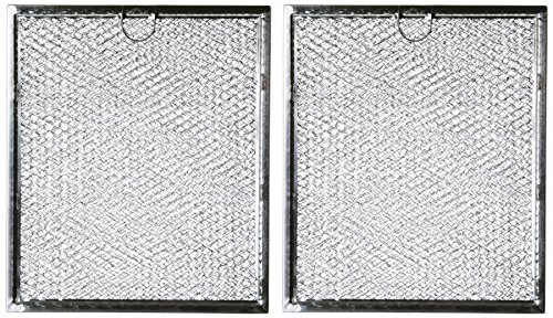 Microwave Grease Filter WB6X486 Replacement For Many GE Microwaves (2-Pack) (The Microwave Stove Above)