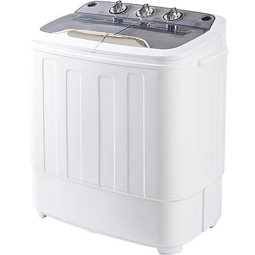 Amazon.com: Merax - Lavadora portátil con ciclo de lavado y ...