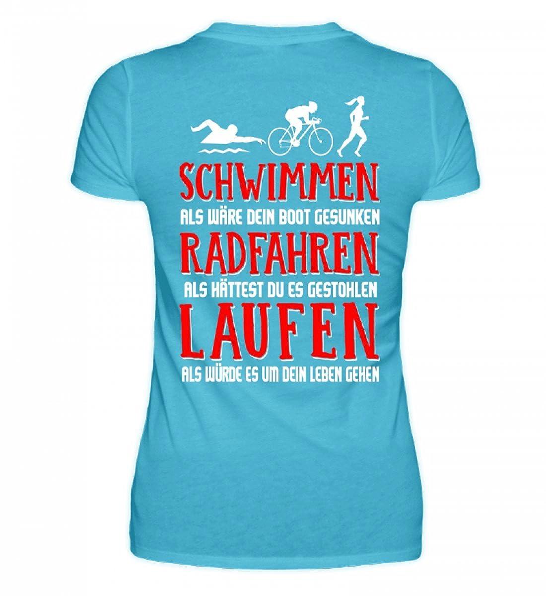 Triathlon Shirt · Geschenkidee für Triathleten · Spruch/Motiv ...