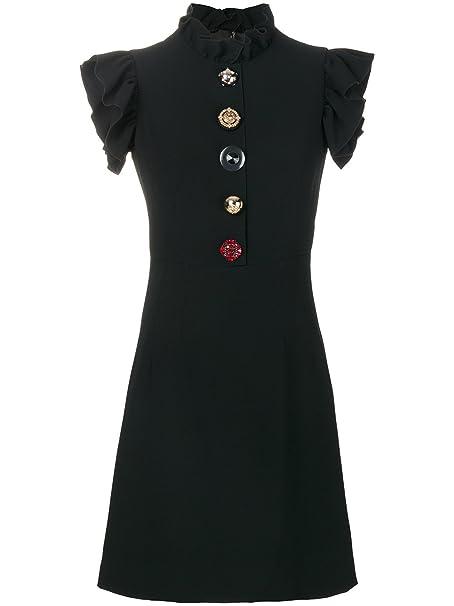 DOLCE E GABBANA - Vestito - Donna nero nero  Amazon.it  Abbigliamento af5fc673c1f