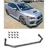 Replacement For 2015-2021 Subaru Impreza WRX & STi | EOS V-LIMITED Style Polypropylene PRIMER BLACK Front Bumper Lower…