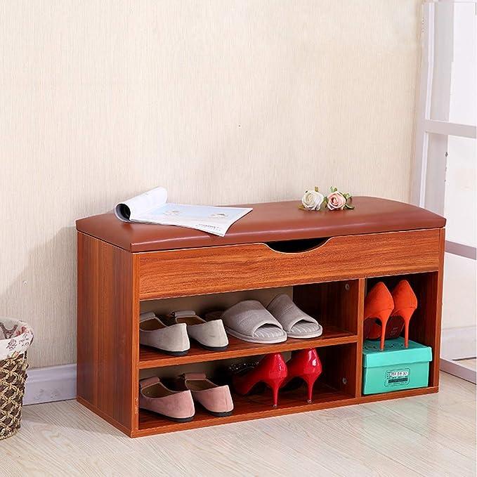 JXXDDQ Estante de Zapato de Madera Soporte del gabinete ...