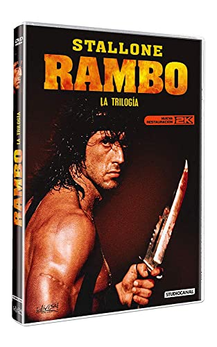 Rambo - La Trilogía [DVD]: Amazon.es: Sylvester Stallone, Richard Crenna, Brian Dennehy, Charles Napier, Kurtwood Smith, Ted Kotcheff, George Pan, Sylvester Stallone, Richard Crenna: Cine y Series TV
