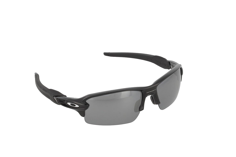 Amazon.com: Oakley Men's Flak 2.0 Polarized Iridium Rectangular, Polished  Black, 59 mm: Oakley: Clothing