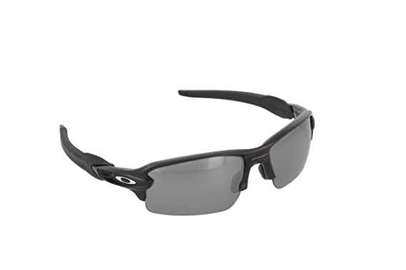 841f2ad2e9 Amazon.com  Oakley Mens Flak 2.0 Sunglasses Black Iridium  Oakley  Clothing