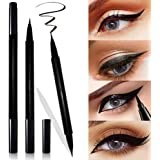Mesaidu 2-in-1 Eye Makeup Super Slim, Long Lasting, Waterproof, Liquid Eyeliner (Black)…