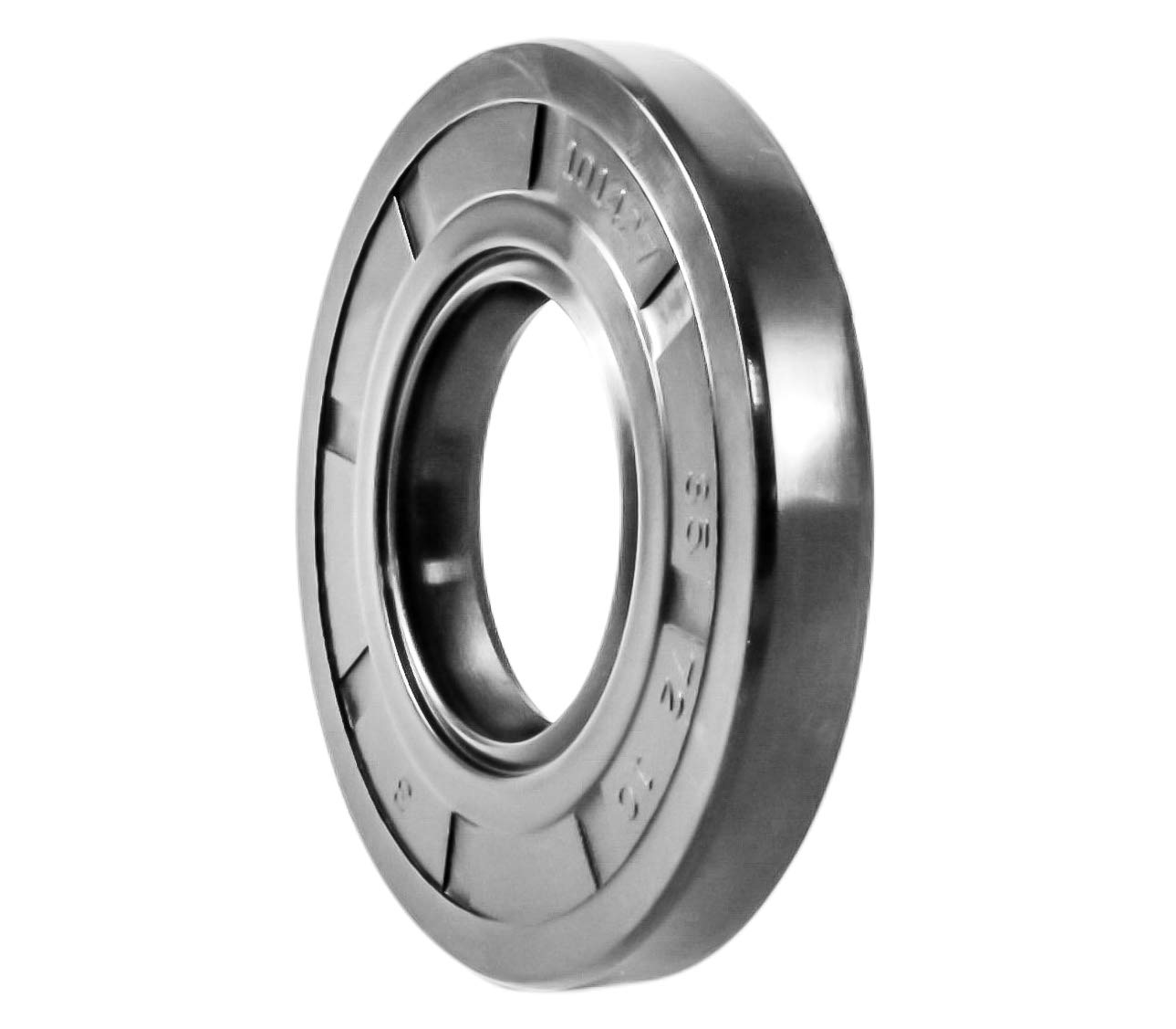 Oil Seal TC 12X28X7 Rubber Double Lip with Spring 12mmX28mmX7mm.