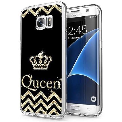 Amazon.com: Funda para Samsung Galaxy S7 Edge, diseño de ...