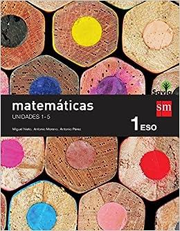 Matemáticas. 1 ESO. Savia. Trimestres - Pack de 3 libros ...