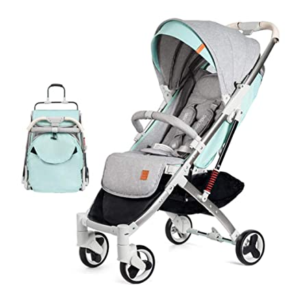 GKBMSP Cochecito de bebé Cochecitos de bebé livianos Cochecito de bebé portátil Plegable Viaje con Asiento