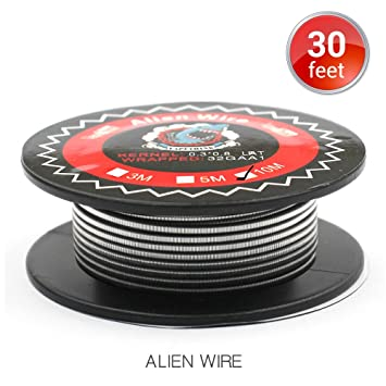 Alien Clapton Draht Widerstand Wire, Vapethink Fertigwicklungen Coil ...