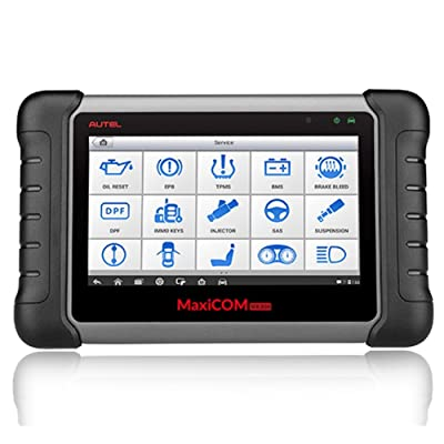 Autel MaxiCOM MK808 is one of the best Full-System Professional Automotive Diagnostic Scanners with Key Programming.
