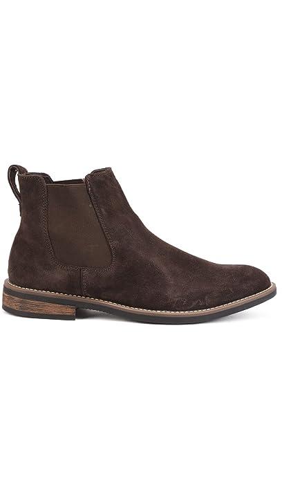Reservoir Shoes Botines Chelsea con Punta Redonda Gael café Hombre Colección Primavera/Verano: Amazon.es: Zapatos y complementos