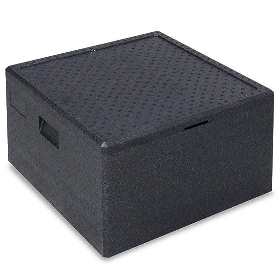 Thermobox für Pizza und Flaschen, LxBxH 600 x 600 x 360 mm, 86 Liter