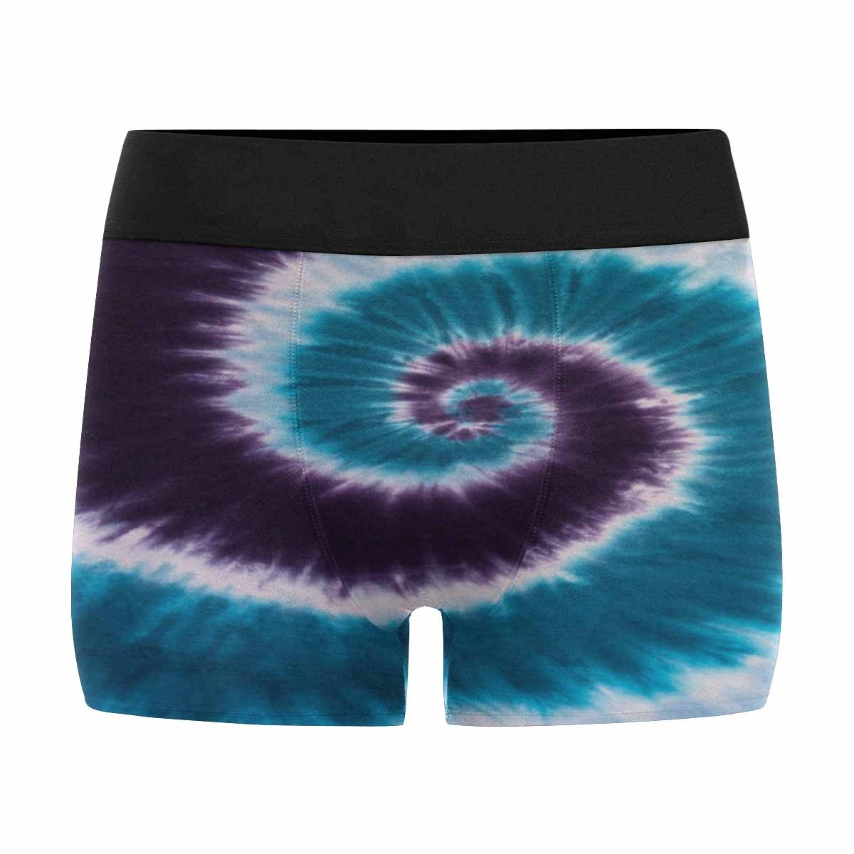 XS-3XL Purple Tie Dye INTERESTPRINT Mens All-Over Print Boxer Briefs Blue