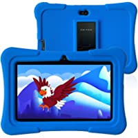 "Pritom K7 7"" 16GB Kids Wi-Fi Android Tablet with Case"
