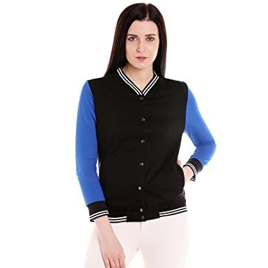 Campus Sutra Women's Full Sleeve Solid Jacket