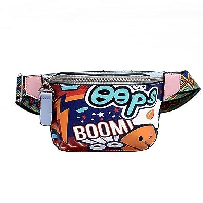 Amazon.com: Zomusar - Bolsas de cintura para mujer, con ...
