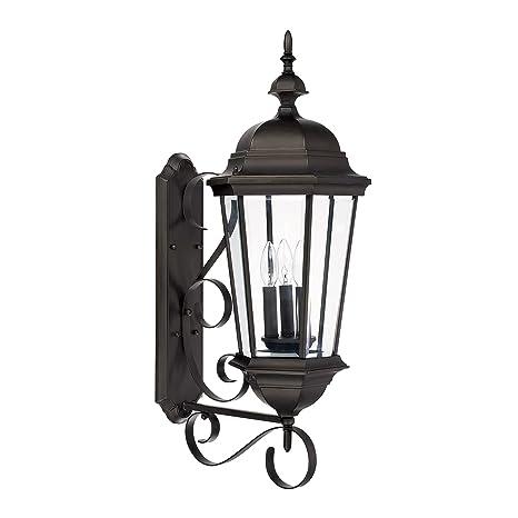 Amazon.com: CAPITAL iluminación 9723 Carriage House 3 luz de ...