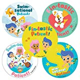 Smile Makers Bubble Guppies Patient Stickers - Doctor Office Giveaways - 100 Per Pack