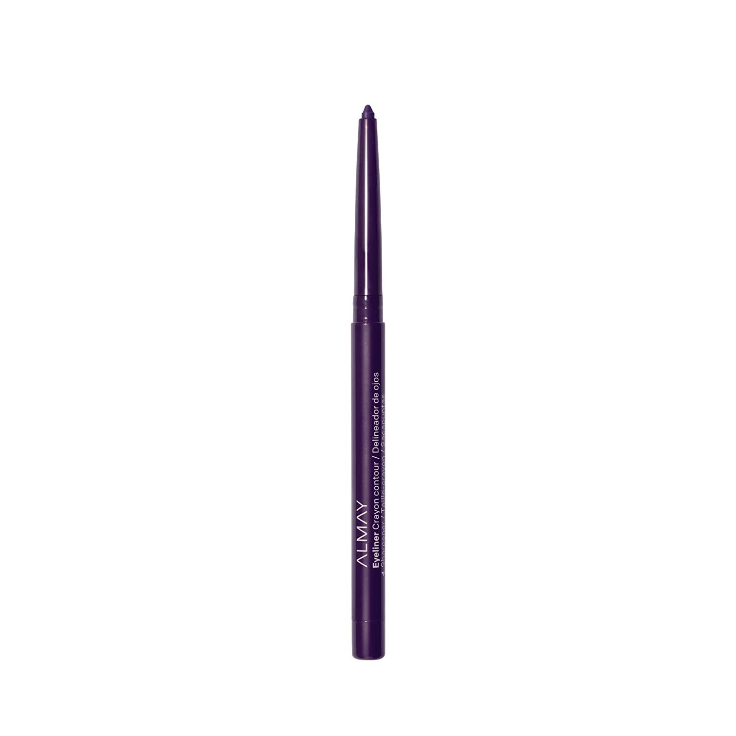 Almay Eyeliner Pencil, Hypoallergenic, Cruelty Free, Oil Free, Fragrance Free, Ophthalmologist Tested, Long Wearing and Water Resistant, with Built in Sharpener