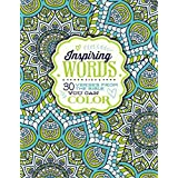 Inspiring Words Coloring Book: 30 Verses from the Bible You Can Color