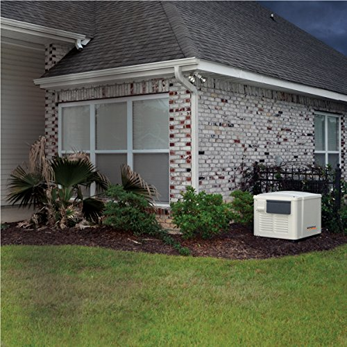 Generac 6998 Guardian Series 7.5kW/6kW Air Cooled Home Standby Generator with 8...
