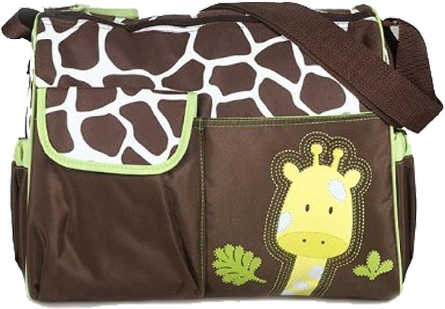 MA-on Sac /à langer multifonction Motif girafe