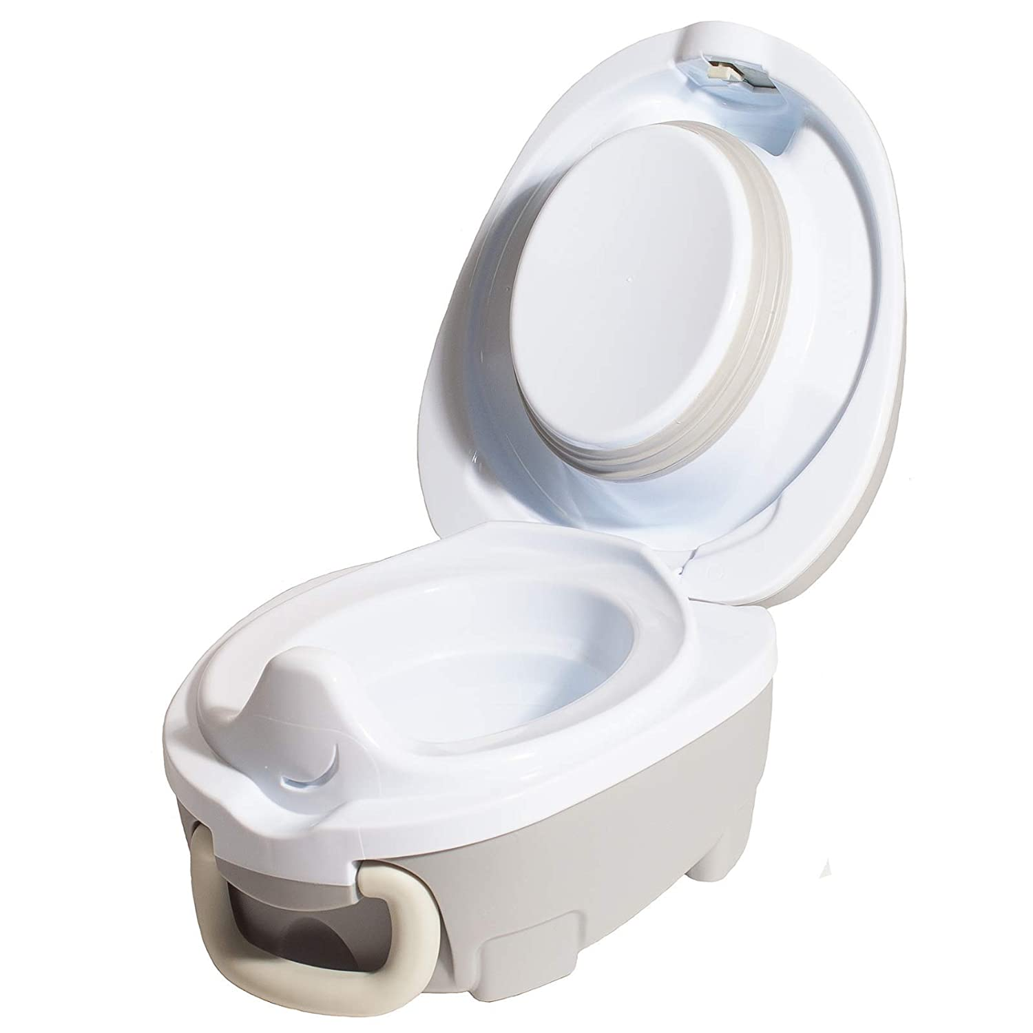 Award-Winning Portable Toddler Toilet Seat for Kids to Take Everywhere My Carry Potty Grey Travel Potty