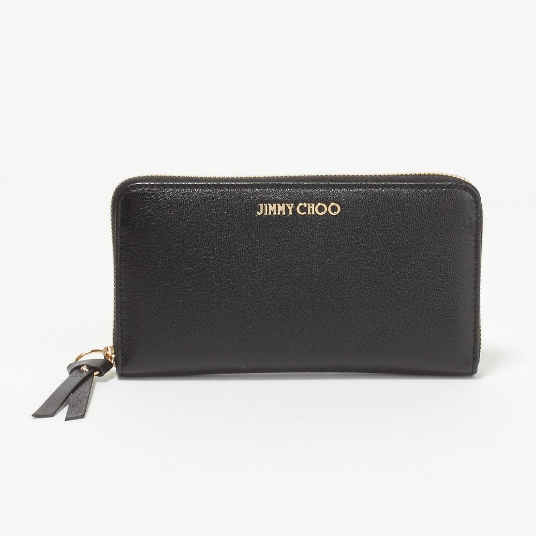 (ジミーチュウ) JIMMY CHOO 財布 長財布 PIPPA GRZ BLACK 【PIPPA】 [並行輸入品] B074YWG13R