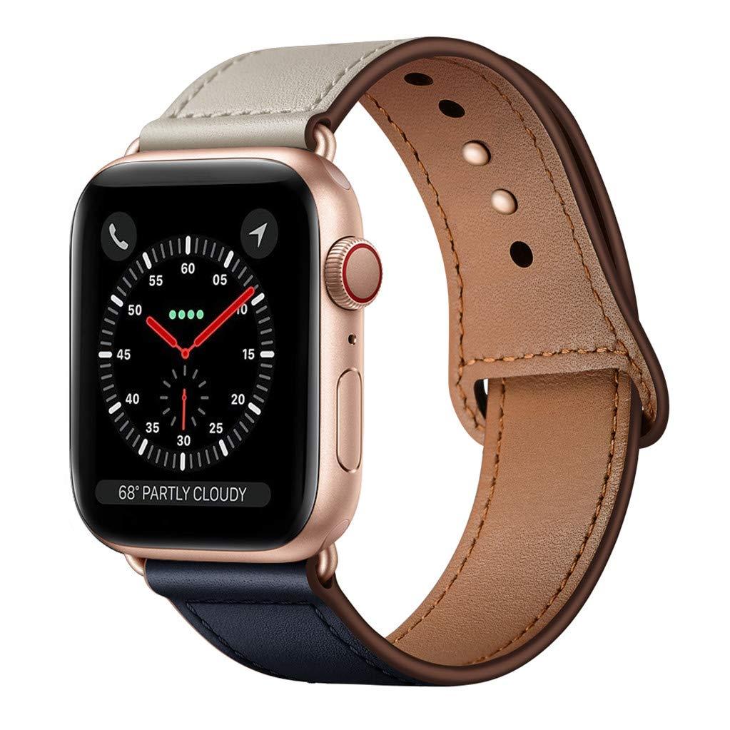 Malla Cuero para Apple Watch (38/40mm) KYISGOS [7W1KBQ66]