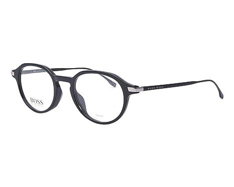 8bc8f42931 BOSS Hugo 0988 807 48 Montures de lunettes, Black, Homme: Amazon.fr ...