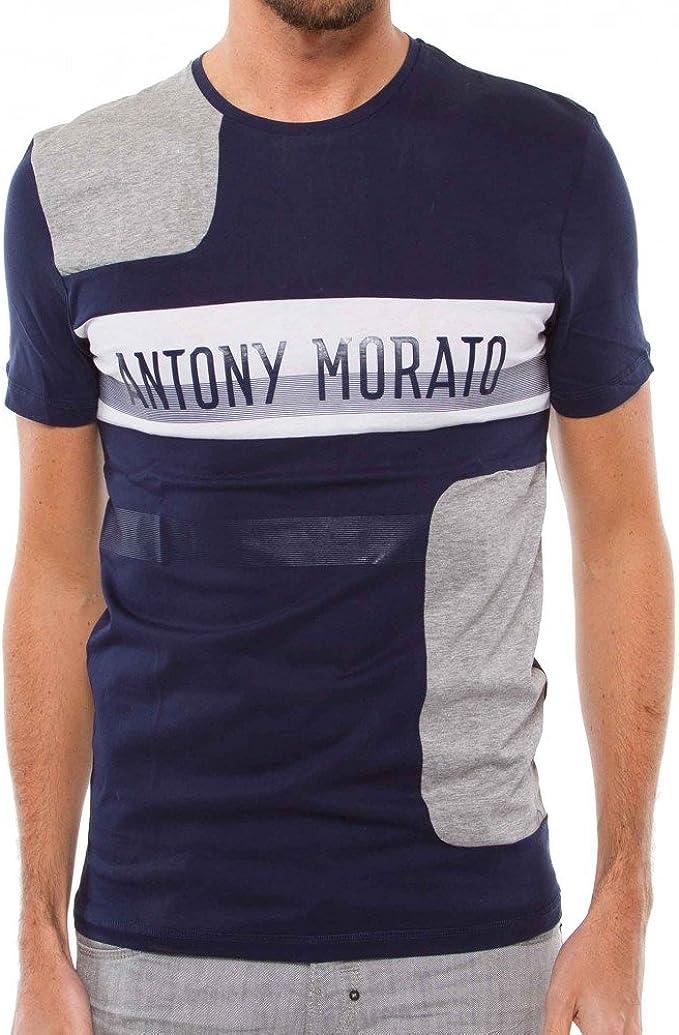 Antony Morato Camiseta Tagli Marina XXL Marino: Amazon.es ...