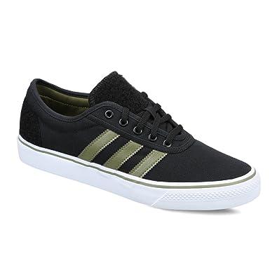 adidas Originals Men's Adi-Ease Cblack, Olicar and Ftwwht Leather Sneakers  - 11 UK
