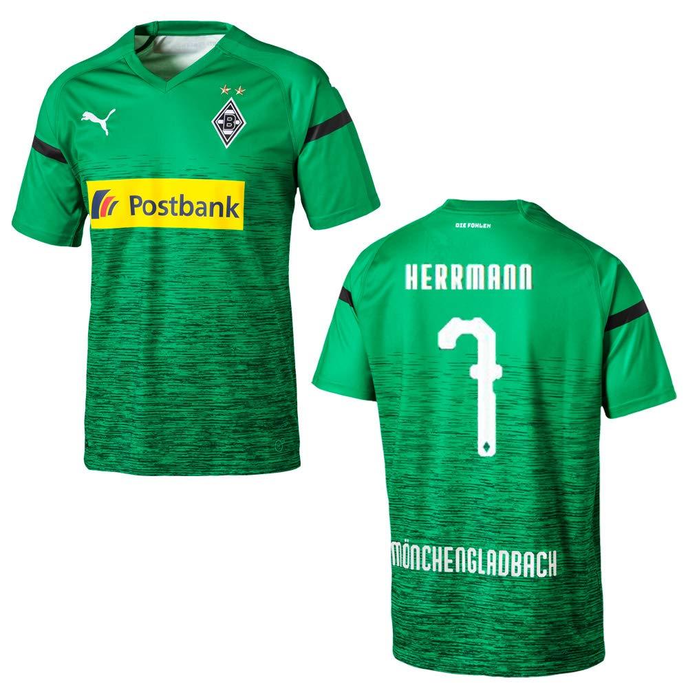 Puma BMG Borussia MÖNCHENGLADBACH Trikot 3rd Kinder 2018 2019 - HERRMAN 7